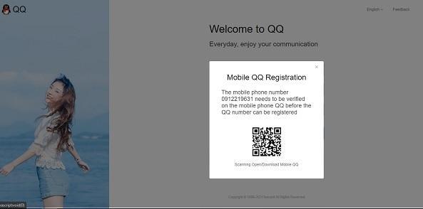 tải app để quét QR đăng ký